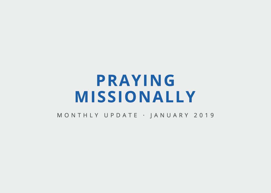Praying Missionally in 2019 | www.salem-bc.org