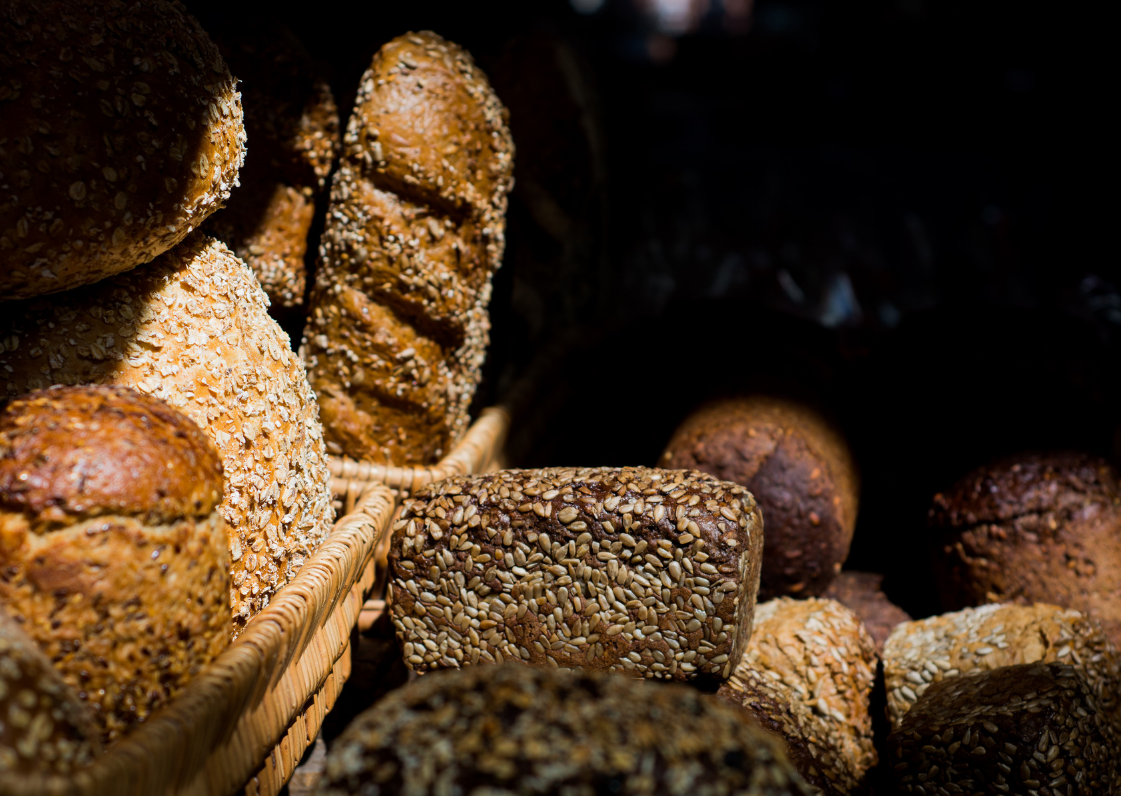 An image of loaves of bread.